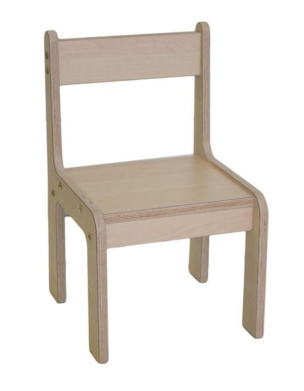 Verwonderend Keukenhof peuter stoel zithoogte 28 cm - Berken - Baaslevert. CI-39