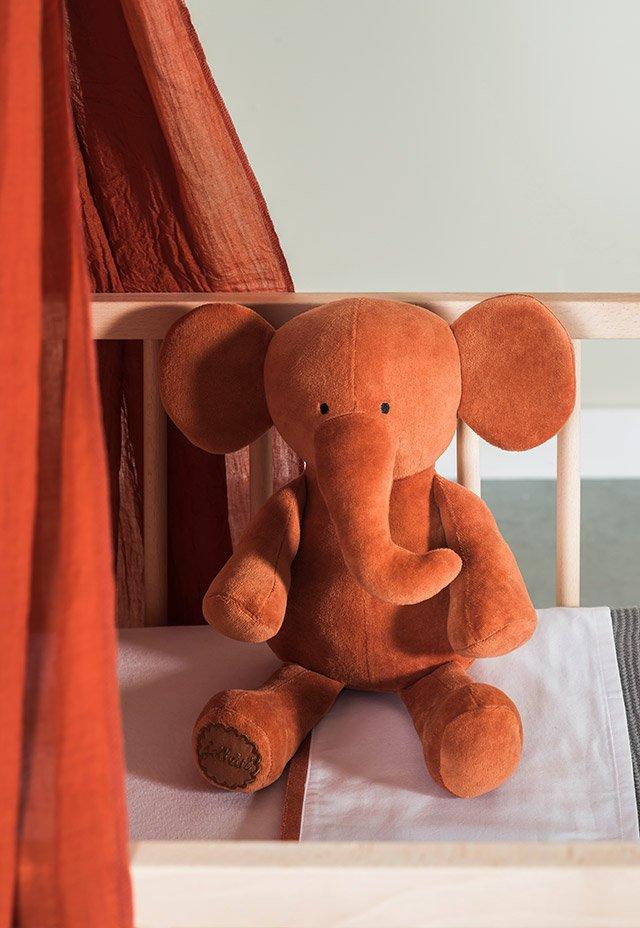 Jollein Knuffel Elephant Storm Grey 36 cm | Speelgoed en